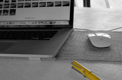 工房SHIMSウェブサイトリニューアル Macbook