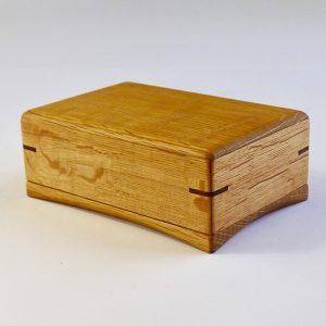 木製バターケース 200g 用(樽材・ホワイトオーク)木工作家清水久勝作